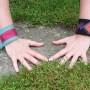 Jeans-Armbänder